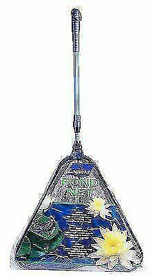 Laguna Teichkescher Algenkescher klappbar Teleskopstiel 95-130cm Fischkescher
