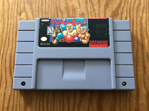Super-Punch-Out-SNES-Super-Nintendo-Cartridge-Cart-Authentic-TESTED