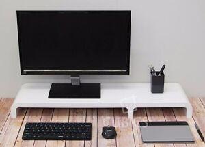 Image Is Loading Cubics Diy Modular Lcd Monitor Stand Desk Organizer