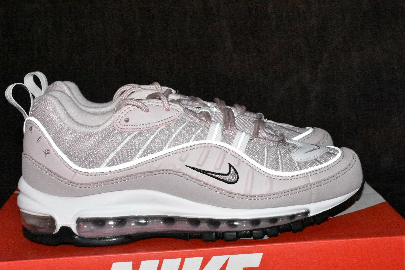 NIKE AIR MAX 98 SZ 8.5 ah6799 600 barely barely barely rose