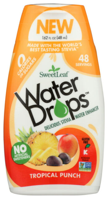 Sweet Leaf Water Drops  Tropical Punch  (1.62 fl oz Container)