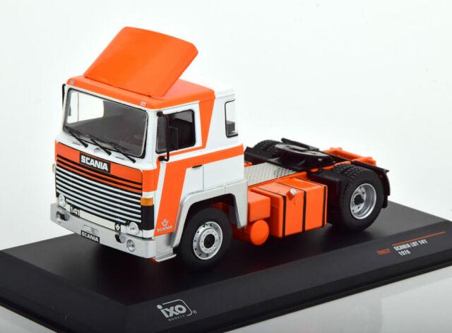 1:43 Ixo scania lbt 141 towing vehicle 1976 White/Orange