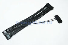 Dual PSU Power Supply 24-Pin Motherboard Adapter Cable 30CM
