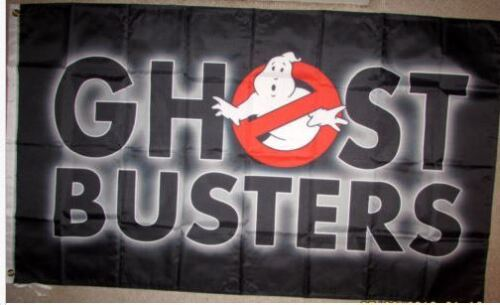 GhostBusters 3/'x5/' Black Flag Banner 2 USA Seller Shipper