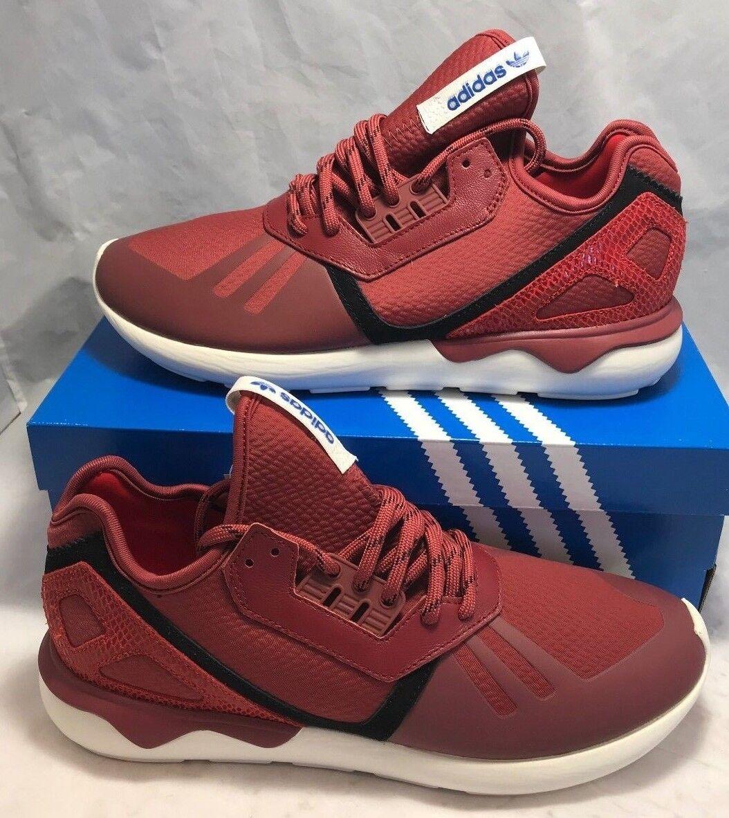 110 dollari tubulare adidas Uomo dimensioni 9.5 tubulare dollari runner in scarpe da ginnastica nuove rosso - nero f474f5