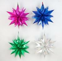 45cm Christmas Foil Star Ceiling Hanging Decorations [BUY 2 GET 1 FREE]