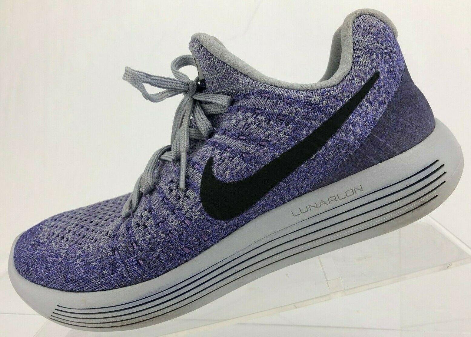 Nike Nike Nike LunarEpic Low Flyknit 2 Running scarpe viola Training scarpe da ginnastica donna Sz 7 ec9914