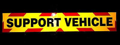 1200mm Escort Vehicle Fluorescent Magnetic Warning Sign Large