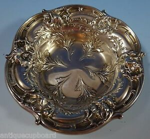 Les-Six-Fleurs-by-Reed-amp-Barton-Sterling-Silver-Nut-Dish-Small-N464-1166