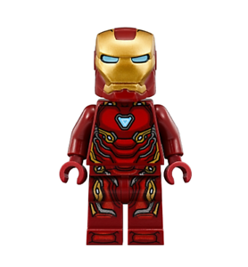 Lego Iron Man Mark 50 Armor 76125 76108 Avengers Super Heroes Minifigure