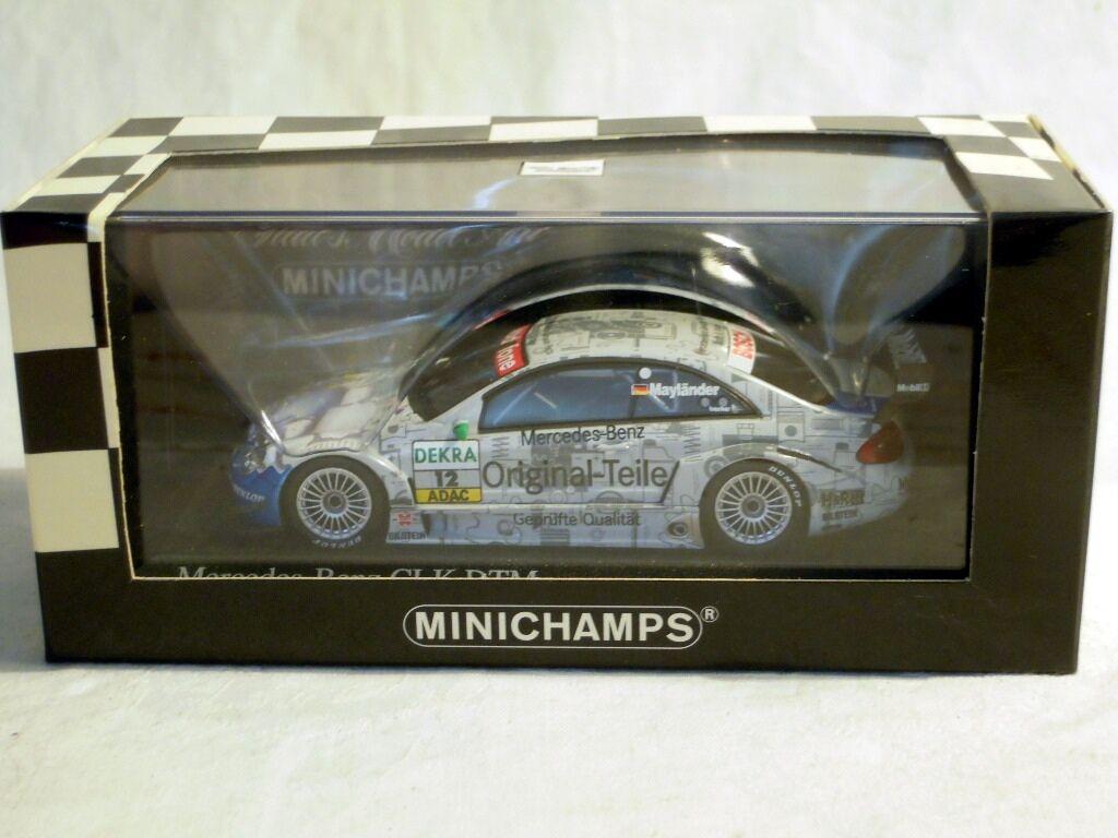 Minichamps 400033212  Mercedes CLK Coupé, DTM 2003,  12 B. Mayländer, NEU & OVP  | Shopping Online