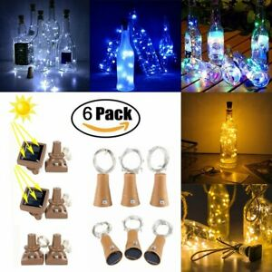 6Pcs-10-LED-Solar-Wine-Bottle-Lights-Cork-Copper-Wire-String-Fairy-Lights-Party
