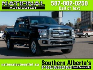 2016 Ford F-350 Lariat ONE OWNER, 5TH WHEEL PREP, SPRAY IN BE...