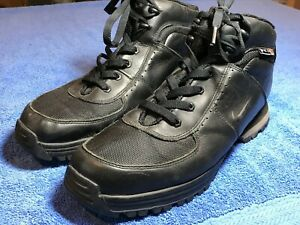 Details about Nike ACG Men's Leather Hiking Boots Black Size US 12
