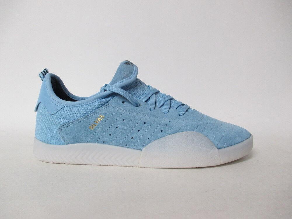 Adidas 3ST.003 College bluee Ice gold Black Sz 10 B42259