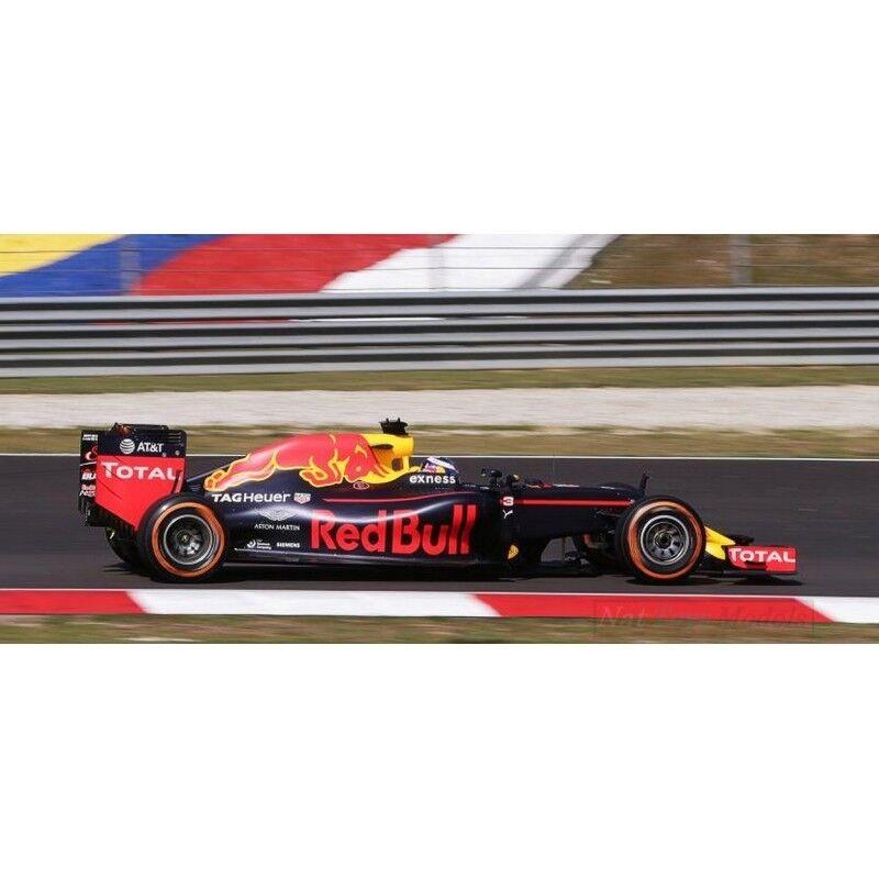 Spark Model S18251 Rojo Bull RB12 D. Ricciardo 2018 N.3 Ganador GP  de Malasia