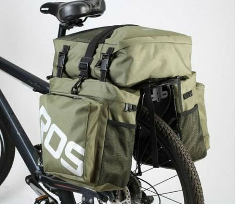 Durable Rear Roswheel Pouch Waterproof Cycling Bag Pannier Bicycle Saddle Tail