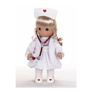 precious moments loving touch care nurse doll by linda rick nib ebay