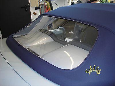 Renault Cabrio Verdeck Scheibe polieren reinigen PVC Heckscheiben Politur Paste