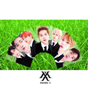 7pcs-set-Kpop-Monsta-X-Members-PVC-Clear-Photo-Card-Collective-Cute-Photocard