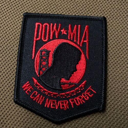 Pow Mia shield patch