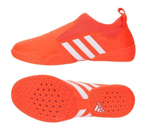 Adidas Men Taekwondo Shoes Footwear Orange Martial Arts Indoor Boot ADI-BRAS16