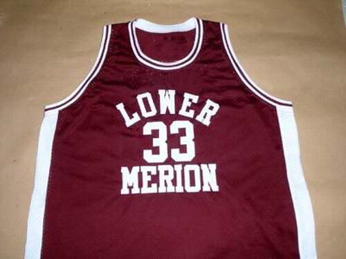 KOBE BRYANT LOWER MERION HIGH SCHOOL BASKETBALL JERSEY MAROON NEW SEWN ANY SIZE