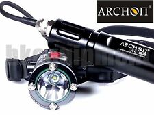 Archon DH25 Cree XM-L U2 Canister Scuba Diving LED Flashlight Headlight