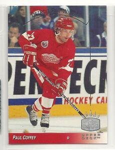 1993-94 Upper Deck SP Insert -  42 - Paul Coffey - Detroit Red Wings ... 17b7bb11f