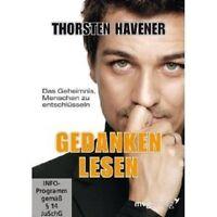 THORSTEN HAVENER - GEDANKEN LESEN: DAS GEHEIMNIS, MENSCHEN...  DVD NEUWARE