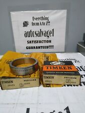 Timken 25821 30000 Precision Roller Bearing Cup Lot Of 2 Nos