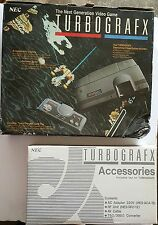 Turbo Grafx 16 PAL Console System complete W/Damaged Box ( NOT USA or CANADA)