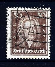 GERMANY - GERMANIA REICH - 1926-1927 - Uomini illustri:Johann Sebastian Bach
