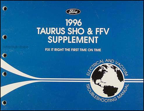 ispacegoa.com 1996 Ford Taurus SHO and FFV Electrical ...