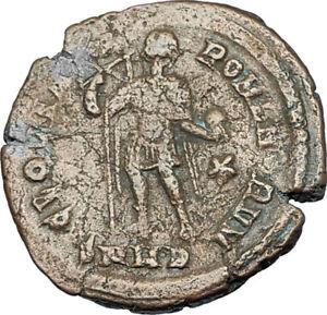 THEODOSIUS-I-the-GREAT-379AD-Heraclea-RARE-Authentic-Ancient-Roman-Coin-i65923