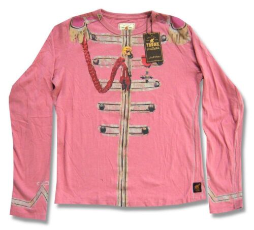 Beatles Trunk LTD Lonely Hearts Kids Youth Pink L//S Shirt New Official