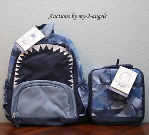 Pottery Barn Kids Mackenzie Critter Shark Small Backpack