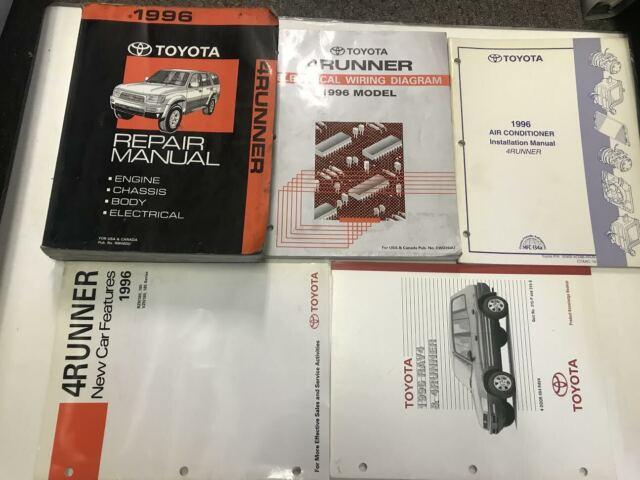 1996 TOYOTA 4RUNNER 4 RUNNER Service Shop Repair Manual ...