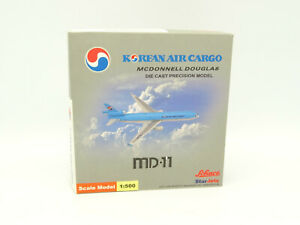 Schuco-Star-Jets-1-500-Aircraft-Mcdonnell-Douglas-Korean-Air-Cargo