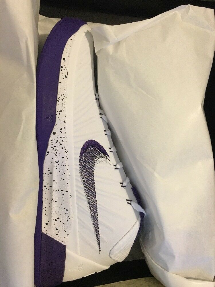 Nike Kobe AD blanc Violet / 922482-100 homme Taille 10.5