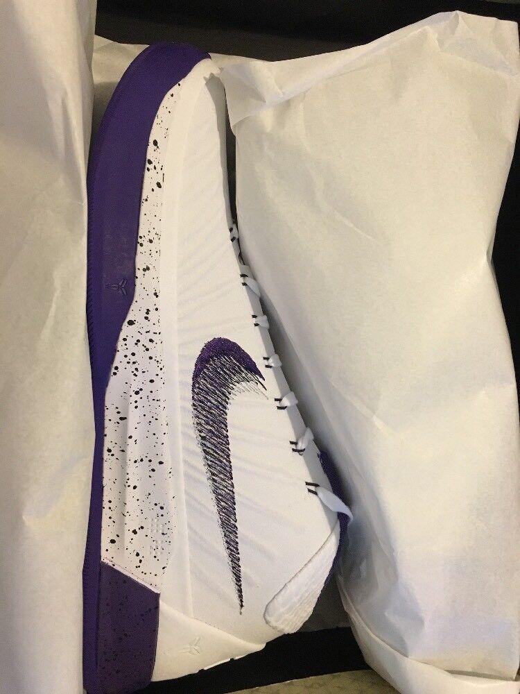 Nike Kobe AD White Purple 10.5 / 922482-100 Men's Size 10.5 Purple 353622