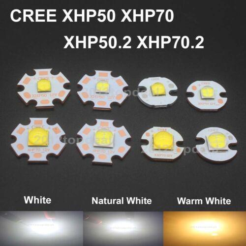 CREE XHP50 XHP70 XHP50.2 XHP70.2 2 generation LED chip 6//12V+16//20mm Copper PCB