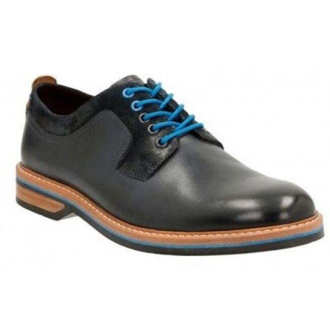 liquidazione fino al 70% Clarks Uomini  SMART SMART SMART Pitney Walk Dark blu LEA Camoscio  Uk 7,8,9 G  distribuzione globale
