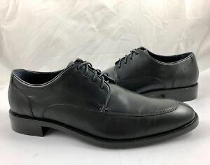 a000123fa1b Details about Cole Haan Men's Size 8.5 Lenox Hill Split Toe Leather Oxfords  Shoes Black $220