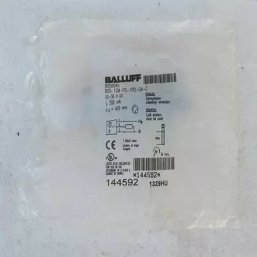1PC BALLUFF BOS 12M-PS-1PD-S4-C Photoelectric Diffuse Sensors NEW IN BOX