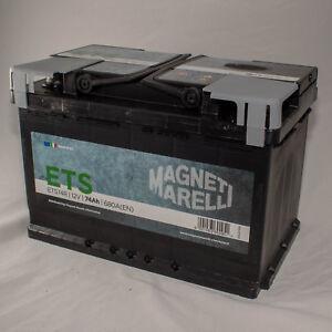 Magneti Marelli - Batteria Auto ETS L03 74AH | eBay