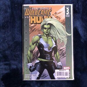 ULTIMATE WOLVERINE VS HULK #3 2nd Print Near Mint 1st U She Hulk Appearance 2009