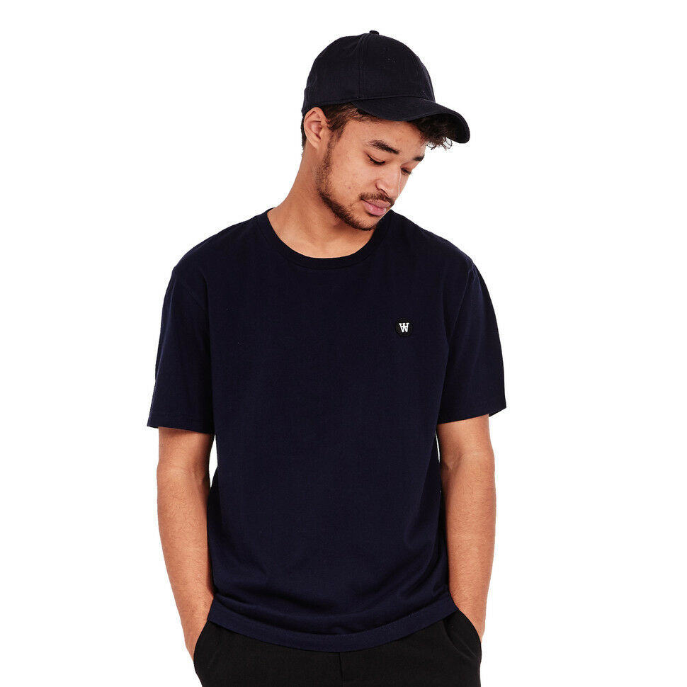 Wood Wood - Ace T-Shirt Navy