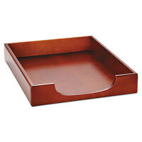 Rolodex Wood Tones Letter Desk Tray Wood Mahogany 23350 on sale