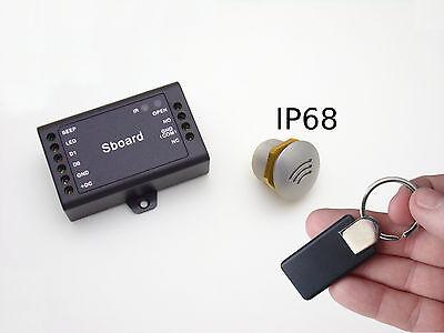 Kleinster RFID-Leser der Welt +Controller +Design-Transponder, sabotagesicher